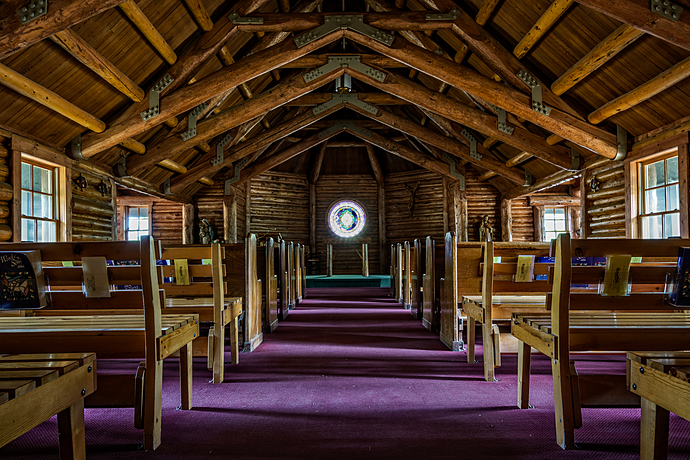 Chapel of the Sacred Heart at Grand Teton National Park