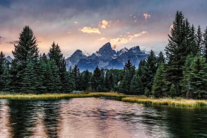 Schwabacher Landing at Grand Teton National Park