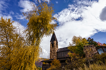 Fall Colors at the Aspen Chapel