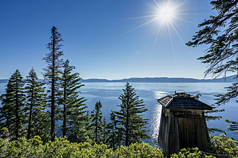 Lake Tahoe Rubicon Point Lighthouse