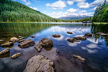 Mount Hood and Trillium Lake