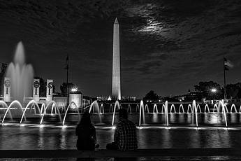 Date Night under the Moon on the National Mall